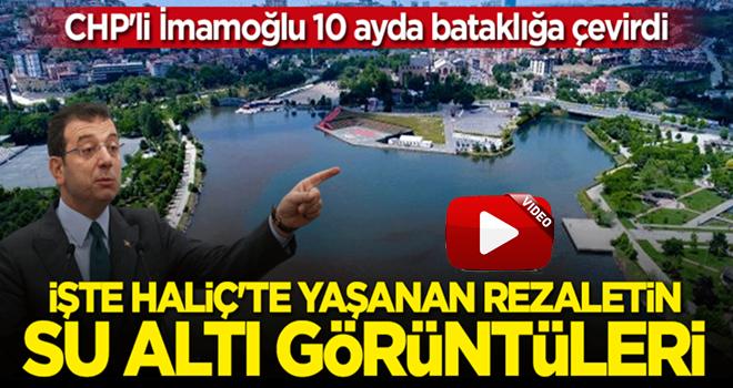 Haliç'teki kirliliğin su altı görüntüleri ortaya çıktı