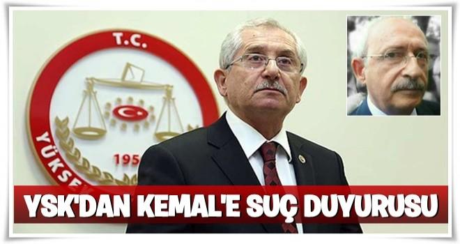 YSK Başkanı'ndan Kılıçdaroğlu'nun referanduma ilişkin sözleri hakkında açıklama