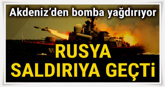 Rusya Suriye'deki DEAŞ mevzilerini bombaladı