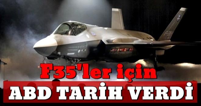 ABD'den 'F-35 Teslimatı Açıklaması'