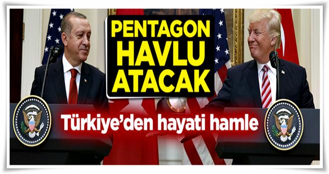 Türkiye'den hayati hamle! ABD havlu atacak