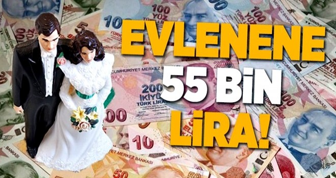 EVlenene 55 bin lira .