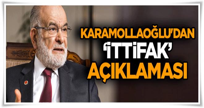 Karamollaoğlu'dan 'ittifak' açıklaması