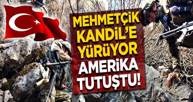 TSK Kandil'e yürüyor! ABD'nin etekleri tutuştu