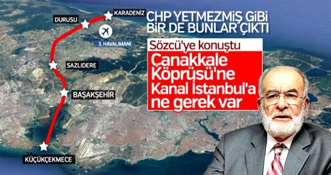 Temel Karamollaoğlu yatırımların durmasını istedi