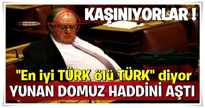 Haddini aşan sözler! 'İyi Türk sadece ölü Türk'tür'