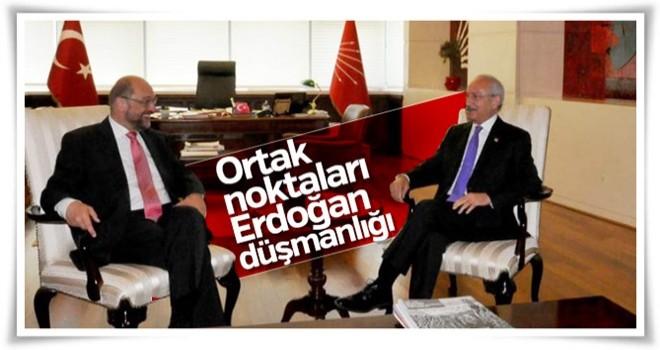 CHP, Türkiye düşmanı Martin Schulz ile yakınlaşıyor