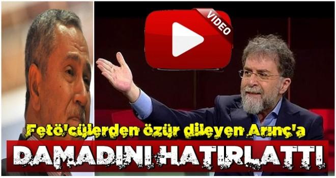 Ahmet Hakan'dan Arınç'a sert tepki!