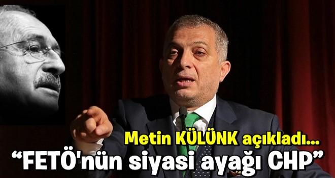 AK Partili Metin Külünk, FETÖ'nün siyasi ayağını açıkladı!