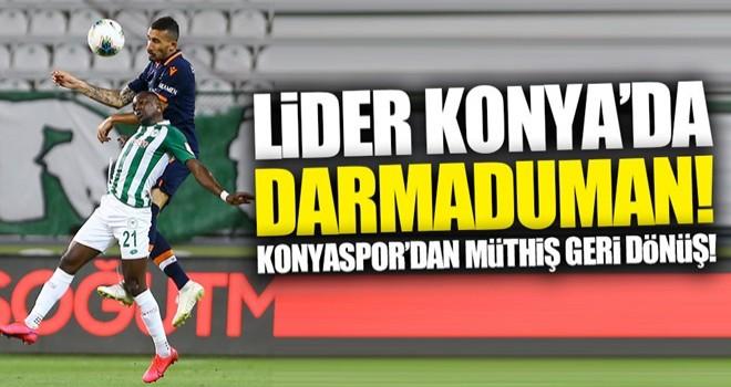 Başakşehir Konya'da dağıldı!