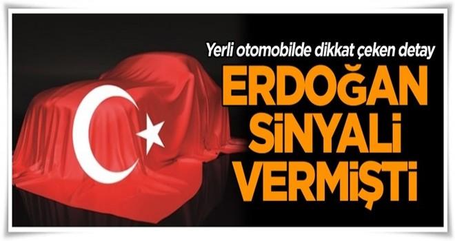Erdoğan sinyali vermişti… Yerli otomobilde dikkat çeken detay