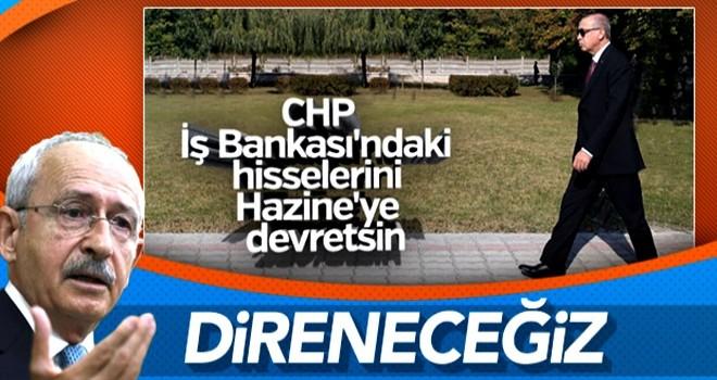 CHP'den İş Bankası çıkışı