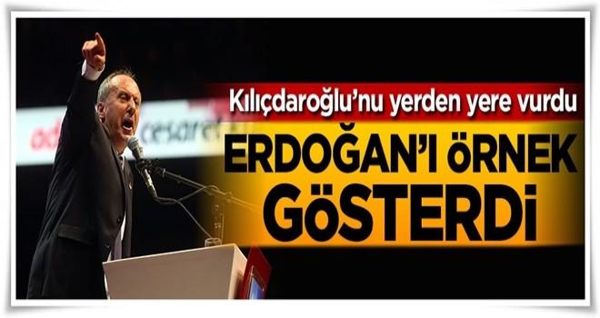 Erdoğan'ı örnek gösterdi, Kılıçdaroğlu'nu yerden yere vurdu