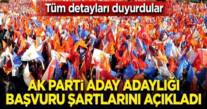 AK Parti seçimler için aday adaylığı başvuru şartlarını açıkladı