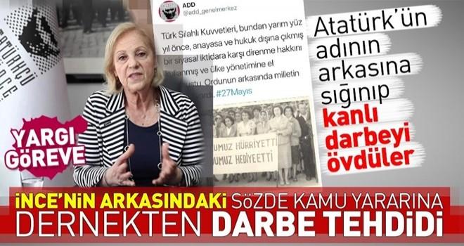 Atatürkçü Düşünce Derneği'nden 27 Mayıs Darbesi'yle ilgili skandal açıklama .
