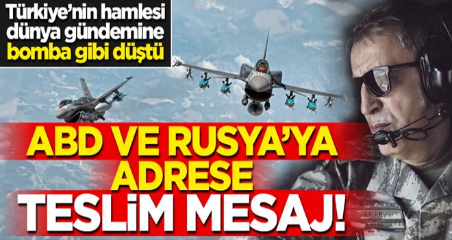 Türkiye'den adrese teslim 5 mesaj!