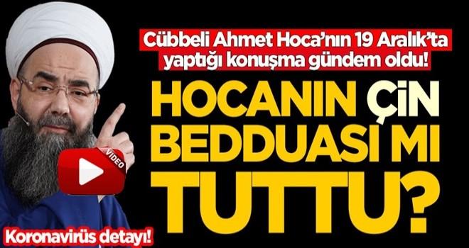 Cübbeli Ahmet Hoca'nın 19 Aralık'ta yaptığı konuşma gündem oldu! Bedduası mı tuttu?