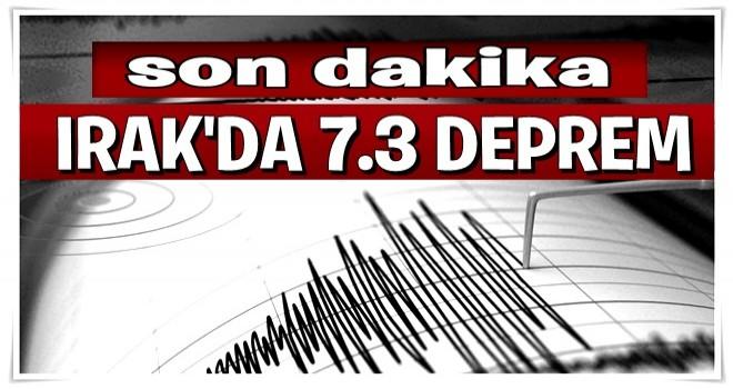 Son dakika: Irak'ın Süleymaniye kentinde 7.3 şiddetinde deprem meydana geldi