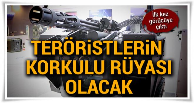 ASELSAN, millî silah sistemi Sarp'ın yeni versiyonunu tanıttı