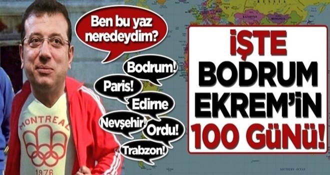 İşte Bodrum Ekrem'in 100 günü!