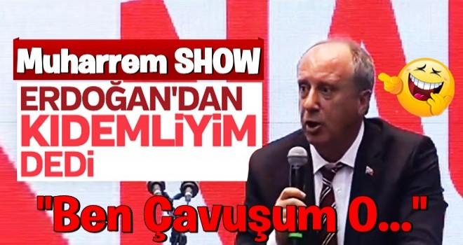 Muharrem İnce: Ben Erdoğan'dan kıdemliyim