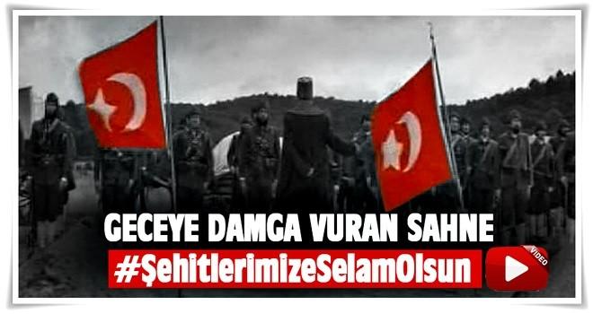 Mehmetçik Kut'ül amare'ye damga vuran sahne