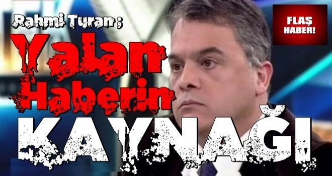 Rahmi Turan CHP'li isim iddiasında kaynağını açıkladı