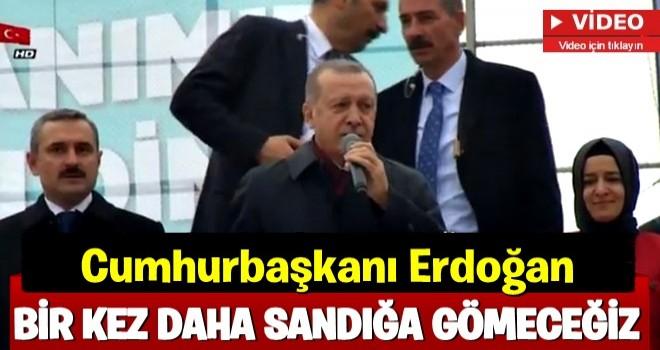 Cumhurbaşkanı Erdoğan Başakşehir'de konuştu