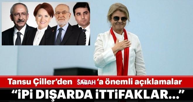 Tansu Çiller'den dikkat çeken HDP açıklaması: 5 benzemezin derdi...