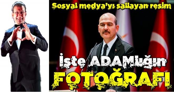 Süleyman Soylu ve İ.oğlu'nun fotoğrafı sosyal medyayı salladı! İşte 'adamlığın' fotoğrafı