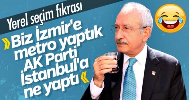 Kemal Kılıçdaroğlu'nun hedefi İstanbul'u İzmir yapmak