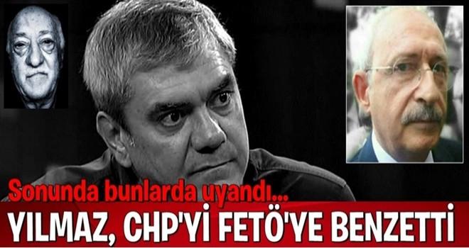Yılmaz Özdil, CHP'yi FETÖ'ye benzetti