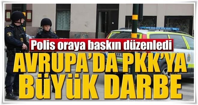 İsveç'te PKK'nın kanalına baskın