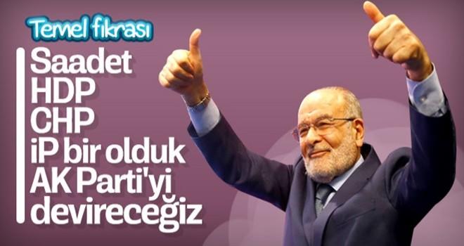 Temel Karamollaoğlu'nun AK Parti'yi devirme hayali
