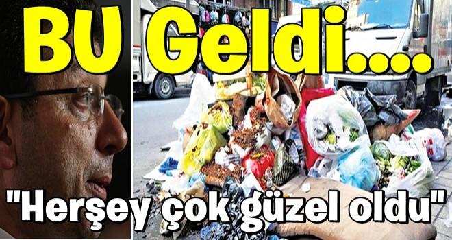 CHP geldi, İstanbul çöp dağına döndü