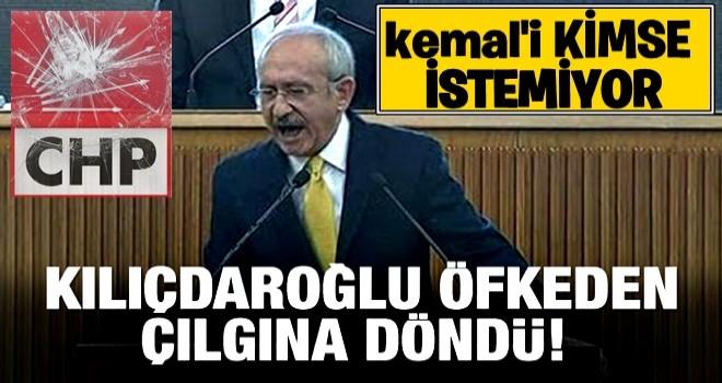 Kılıçdaroğlu öfkeden çılgına döndü!