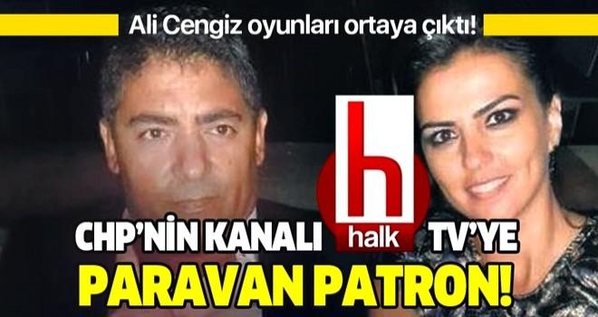 CHP'nin kanalı Halk TV'ye paravan patron!