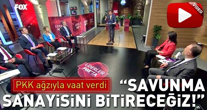 HDP'den PKK ağzıyla vaat!