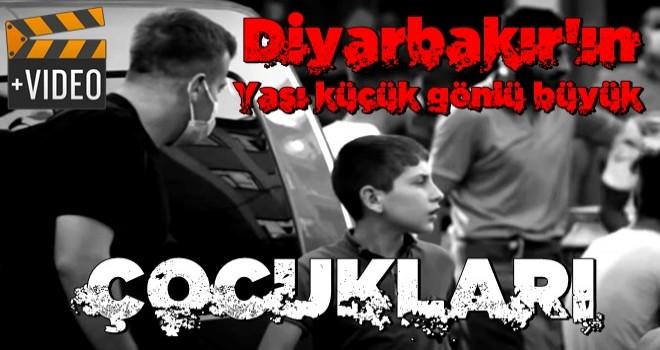 Diyarbakır'daki sosyal deney Youtube'da patladı Yaşı küçük gönlü büyük çocuklara iş adamından tablet