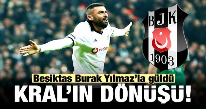 Burak Yılmaz attı Beşiktaş kazandı!