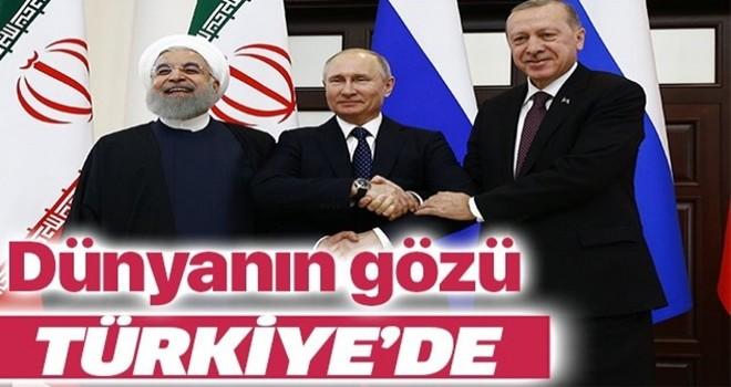 Dünyanın gözü Türkiye'de! Suriye için iki kritik zirve .
