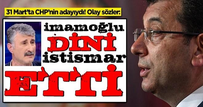 Alper Taş'tan olay sözler: Ekrem İmamoğlu dini istismar etti