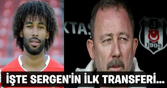 Sergen Yalçın'ın Beşiktaş'a ilk transferi...