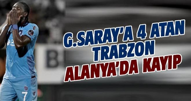 Trabzonspor, Alanya'da kayıp