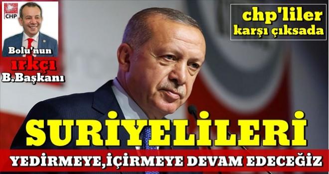 Başkan Erdoğan açıkladı: Suriyelilere yardımlar devam edecek