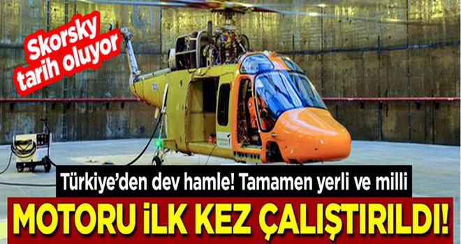 Tamamen yerli ve milli! T625 Genel Maksat Helikopteri'nin motoru ilk kez çalıştırıldı
