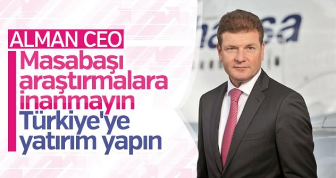 Alman CEO'dan yatırımcılara Türkiye çağrısı