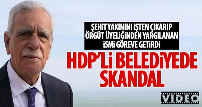 HDP'li belediye şehit yakınlarını işten çıkardı