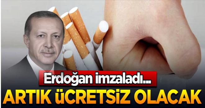 Sigarayı Bırakmak İsteyene Ücretsiz Sağlık Hizmeti