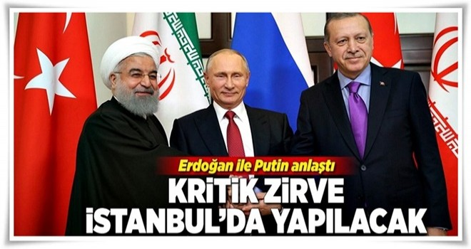 Erdoğan-Putin arasında kritik görüşme .